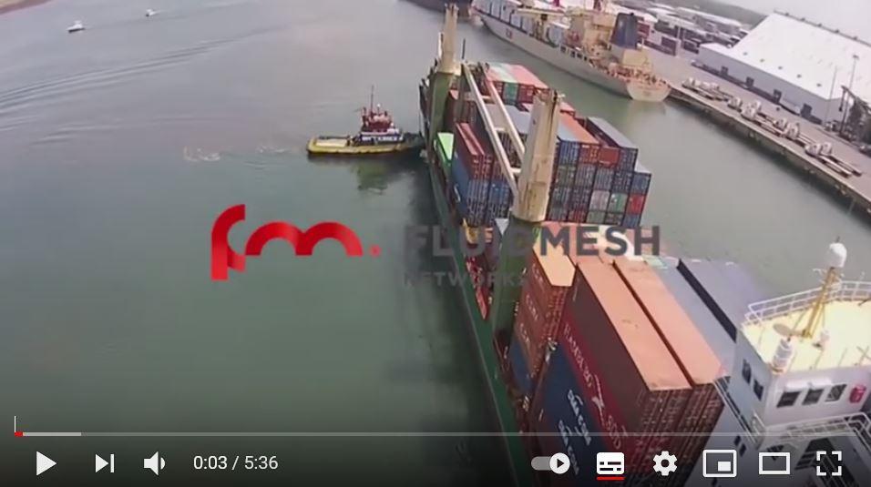 Wireless video surveillance for ports - Puerto de Quetzal